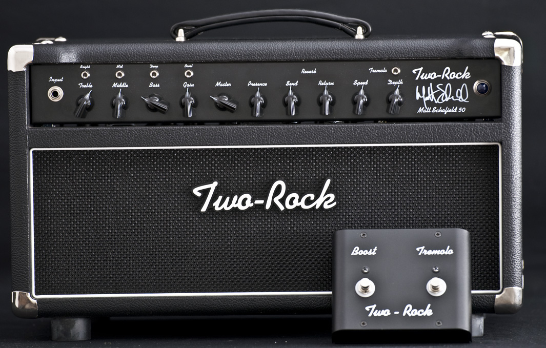 Two Rock 50 Watt Matt Schofield Amp Head